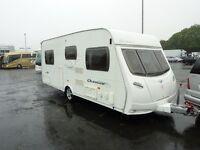 Lunar Quasar Fixed Bed Touring Caravan