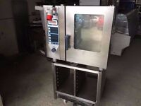 KITCHEN CATERING RATIONAL STEAM OVEN CAFE TAKEAWAY RESTAURANT FASTFOOD HOT FOOD COMMERCIAL