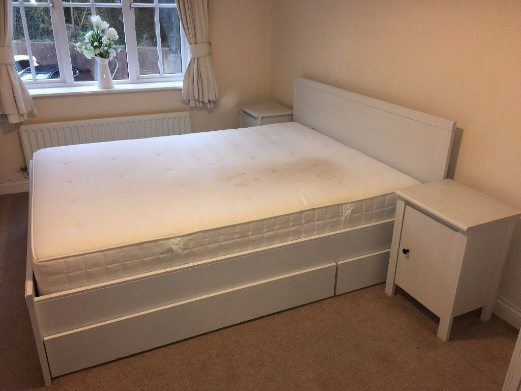 Ikea Brusali Kingsize Bed In Woking Surrey Gumtree