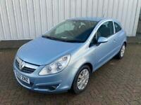 VAUXHALL CORSA 1.2 CLUB 2007 BLUE **FULL YEAR MOT**PERFECT FIRST CAR**ONLY 56K**