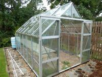 Large Greenhouse, Walk In, 2.55m x 3.85m
