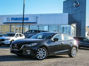 2015 Mazda MAZDA3 SPORT GT, Push Button Start, Moonroof, NAV. RE