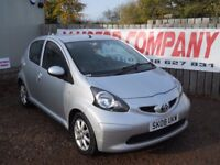 TOYOTA AYGO 2008 1.0 LTR PETROL 77000 MILES 1 YEAR FRESH MOT WARRANTIED EXCELLENT CONDITION!!!