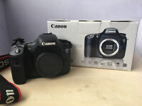 CANON EOS 7D DSLR AND 2 LENSES BUNDLE, ONLY 12958 SHUTTER COUNT!