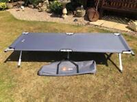 Hi Gear aluminium camp bed.
