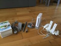 Nintendo Wii Console & Games Bundle