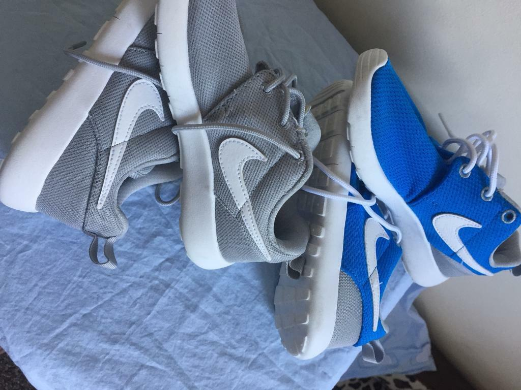 detailed pictures fa847 152f7 NIKE JUNIOR BOYS TRAINERS SIZE 12