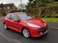 Peugeot 207 1.6 HDi Sport 3dr,cheap gift,disel engine