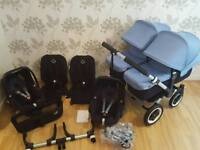 BUGABOO DONKEY TWIN EXCELLENT CONDITION