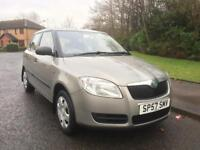 SKODA FABIA 1422 CC TDI , DIESEL , FULL SERVICE HISTORY , NEW MOT , JUST SERVICED ,