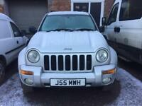 JEEP CHEROKEE 2.5CRD LIMITED 4x4 2004