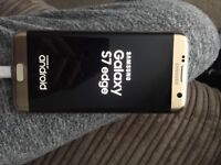 Gold, Samsung galaxy s7 edge, 32 gig