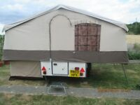 Pennine Aztec Trailer tent, plus awning, built in cooker and sink