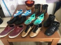 Bundle of size 3 and 4 U.K. boys shoes
