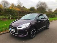 Citroen ds3 cab convertible 2016 1.2 petrol pure tech elegance