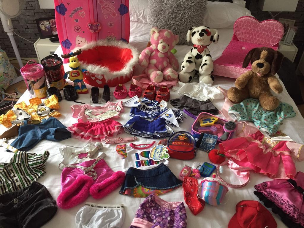Reduced for quick sale Large collection of build a bear