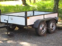 double axle trailer c/w full electrics and forward frame