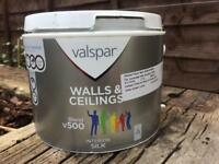 FREE Valspar Interior Silk Paint