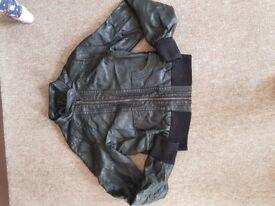 Size 12 leather jacket