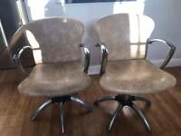Hairdressing chairs and cutting stools