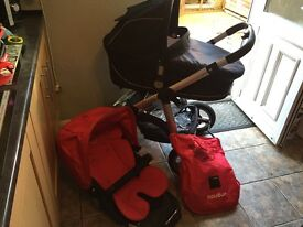 Icandy Apple, pram & pushchair