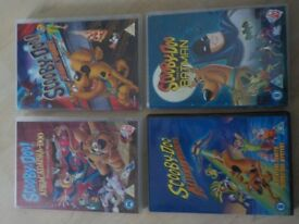 4 x Scooby Doo DVDs - £1 each - Collect from PE27