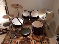 Pearl ELX Acoustic Drum Set w/ accessories
