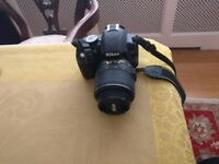 Sparingly used Nikon D3100