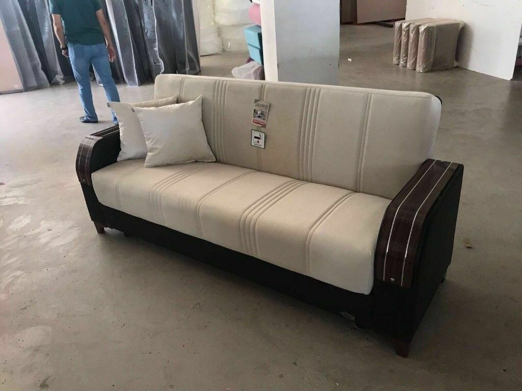 Order now brand new Special MD Turkish sofa bed with storage