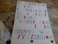 Extra sticker letters:)