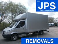 • REMOVALS • MAN & VAN • VAN HIRE WITH DRIVER **we do not collect waste of any kind**