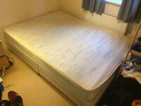 Double divan bed including mattress!