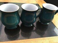 Denby Mugs set of 3