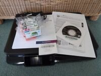 HP PHOTOSMART 5520 ALL-IN-ONE PRINTER/SCANNER + INKS
