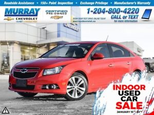 2014 Chevrolet Cruze 2LT *Remote Start, Heated Seats, Rear View