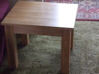 Solid Light Oak table