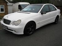 "Mercedes C270 CDI Avantgarde SE Automatic, 2004, 105k miles, 1 of a kind ""Dipped"" finish, lovely car"