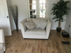 2 x sofas and 1x foot stool