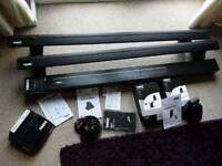 Thule roof rack / bars, load stops / straps wingbar NEW