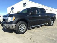 2011 Ford F-150 XTR  Crew Cab 4X4 3.5L Ecoboost, 6 way Power Dri