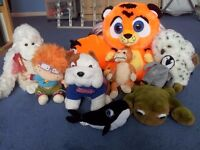 10 soft toys in excellent condition