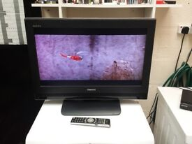 toshiba 26 inch lcd tv with built in freeview