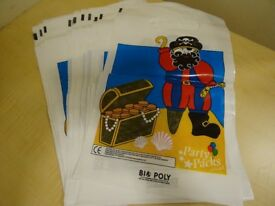 30 X PIRATE PARTY BAGS - GOOD QUALITY – NEW