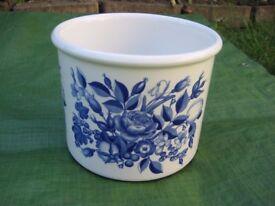 Portmeirion Harvest Blue by Angharad Menna 1995 Bowl