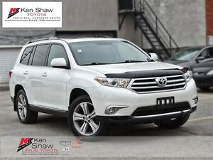 2013 Toyota Highlander SPORT PACKAGE ** leather, roof