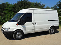 FORD TRANSIT VAN 280 MWB SEMI HIGH TOP 100BHP 138,000 MILES