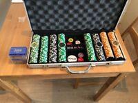 Custom Poker set + plaques
