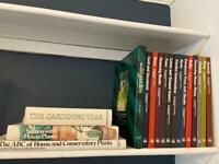 Collection of Gardening Books