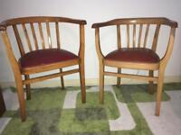 Beechwood Elbow chairs