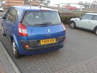 2004 Renault Megane Scenic Expression 1.5, low milage